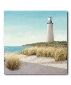 Take a look at this Lighthouse Canvas Wall Art by COURTSIDE MARKET on #zulily today!