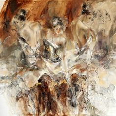 Past. Present. Future 4 oil painting by Anna Razumovskaya