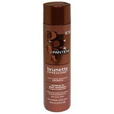 Pantene Pro-V Brunette Expressions Daily Color Enhancing Shampoo for Darker Brunette Shades, Nutmeg to Dark Chocolate, 13 fl oz (384 ml) >>> Click on the image for additional details.