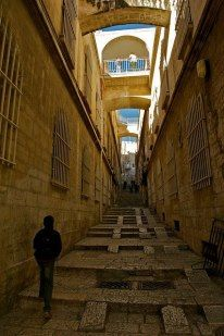 # Jerusalem (The old city) شوارع القدس العتيقة