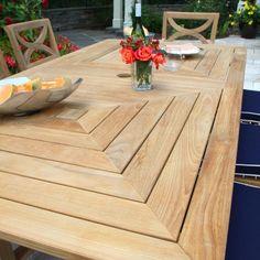 Fiori 7 ft. rectangular table.