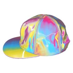 New In Store: Holographic Hat  #Rave #Rage #EDM