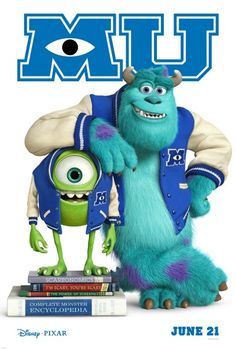 monsters university - I can't wait!