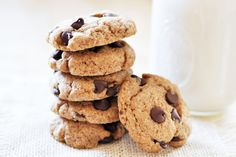 Classic Vegan Chocolate Chip Cookies- The Colorful Kitchen