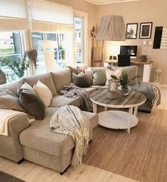 most comfortable and cozy living room ideas cozy livingroom apartment rustic 4 Furniture, Apartment Decor, Wall Decor Living Room, Living Room Decor Apartment, Home, Winter Living Room, Living Furniture, Warm Home Decor, Farmhouse Decor Living Room
