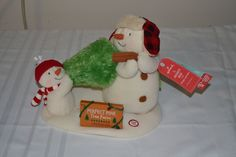 2014 Hallmark Jingle Pals Perfect Tree Snowman Plush Animated Musical Sold Out