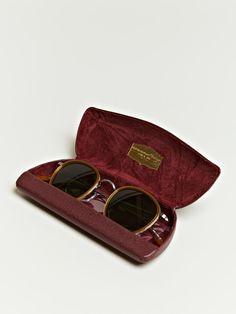 Oliver Peoples unisex Metal Patterned Rim Sunglasses I misplaced my sunglasses that look like this :(
