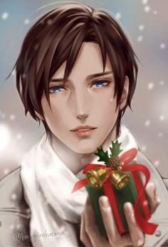 #Noël #Dessin hayarinokatana #Fête #Manga