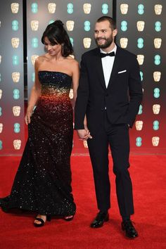 Jamie Dornan & Amelia Warner at the BAFTA Awards, 2017
