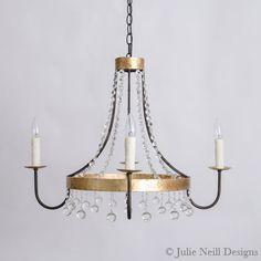Julie Neill Designs - Fine Lighting Handcrafted in New Orleans Handmade Chandelier, Transitional Chandeliers, Lighting Companies, New Orleans, Light Fixtures, Bathroom Lighting, Lanterns, Sconces, Living Spaces