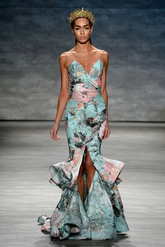 ABY Runway Review: Michael Costello Spring 2015 Mercedes-Benz Fashion Week |