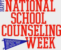 In 2 weeks it will be National School Counseling Week. Now I know, there are a lot of School Counselors who are going to get their feeli. National School Counseling Week, School Counseling Office, Middle School Counselor, Elementary Counseling, Counseling Activities, Professional School, Graduate Program, Exploring, School Counselor