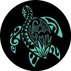 Pick your favorite color! please put the color you would like in the notes to seller Hawaiian Turtle Tattoos, Tribal Turtle Tattoos, Turtle Tattoo Designs, Tribal Shoulder Tattoos, Tribal Tattoos For Men, Mens Shoulder Tattoo, Hawaiian Tribal, Animal Tattoos, Tribal Sleeve