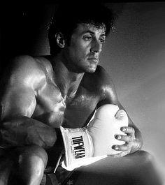 Sylvester Stallone-Rocky Balboa from Rocky IV, the Italian stallion :-) Rambo 3, John Rambo, Frases Rocky, Sylvester Stallone Young, Rocky Stallone, Frank Stallone, Silvestre Stallone, Rocky Film, Movie Posters
