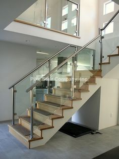 Stainless   Staircase   Los Angeles   By Pike Stair Company, Inc