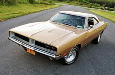gold charger