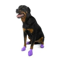 Pawz Water-Proof Dog Boot, Large, Up to 4-Inch
