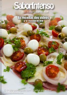 Receitas de Culinária dos Vídeos SaborIntenso de 2ª a 6ª. Gastronomia Portuguesa e Internacional.