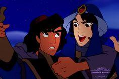 Aladdin and Mozenrath Aladdin Art, Muslim Book, Aladdin And Jasmine, A Whole New World, You Are Perfect, Father And Son, I Fall In Love, Samurai, Fairy Tales