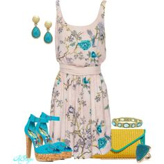 Summer Cork, created by kginger on Polyvore
