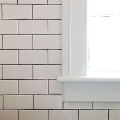 Subway Tiles white subway tile (hd 3 x 6) no spacers, delorean gray grout