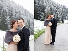 Austrian Winter Wedding