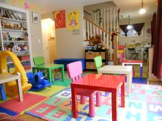 Images of Children's Day Care at Home