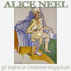 famouse women artists Alice Neel http://schulmanart.blogspot.com/2014/09/famous-women-artists-alice-neel.html