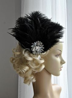 Rhinestone Flapper headpiece1920's flapper by BlueSkyHorizons