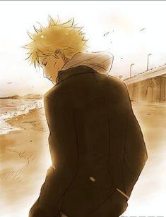 Uzumaki Naruto. Modern Universe-By the beach