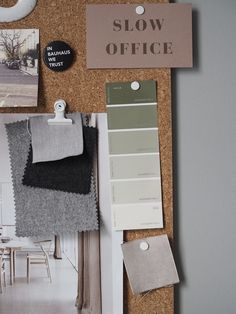 A cosy, grey home office for a freelance creative - my makeover reveal Gray Home Offices, Home Office Desks, White Painted Floors, Damp Proofing, Art Studio At Home, Engineered Wood Floors, Apartment Interior Design, Trendy Home, Home Bedroom