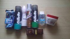 Produkty na holenie, Rexona a olej na vlasy