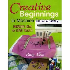 Fun-to-use primer takes the mystery out of your embroidery machine. Ideal for both the beginner and the experienced embroider, this text is a bare-bones primer for machine embroidery, primarily in quilts. It applies to any brand of sewing machine with an embroidery attachment. Brother Embroidery Machine, Machine Embroidery Projects, Machine Embroidery Applique, Crewel Embroidery, Embroidery Ideas, Used Embroidery Machines, Embroidery Supplies, Ribbon Embroidery, Embroidering Machine
