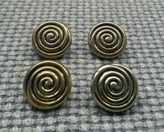 4 x gold tone #tarnished metal look buttons 18mm #vintage gothic steampunk #style,  View more on the LINK: http://www.zeppy.io/product/gb/2/182427654686/