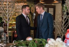 "Emmerdale's Danny Miller and Ryan Hawley tease Robron's wedding and a ""harrowing"" future for Aaron  - DigitalSpy.com"