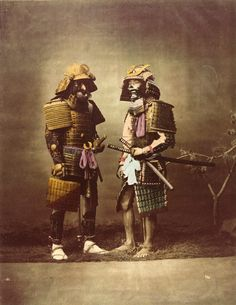 Samurai – Japan People (Yokohama 1863-1877) by Felice Beato