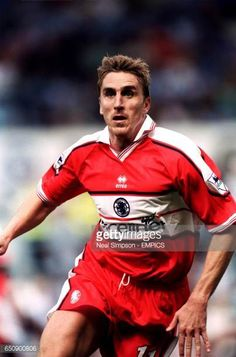 Alen Boksic Middlesbrough Middlesbrough Fc, Coventry City, Football Photos, Boro, Football Players, Messi, Soccer, Creatures, England