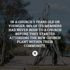 This is why we plant churches!