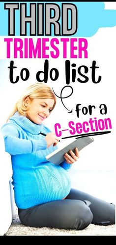 Third trimester pregnancy to do list for a scheduled c-section! Are you having a scheduled c-section and want to get prepared? Here is the ultimate third trimester to do list before baby arrives! You'll want to have all these things done before you bring baby home so you can relax, recover safe, and enjoy you newborn! Third Trimester checklist Pregnancy Chart, Pregnancy First Trimester, Second Trimester, Trimesters Of Pregnancy, Scheduled C Section, Other Mothers, Before Baby, First Baby, Kids House