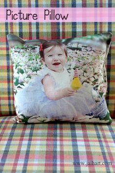 Picture Pillow Great Mother's Day gift