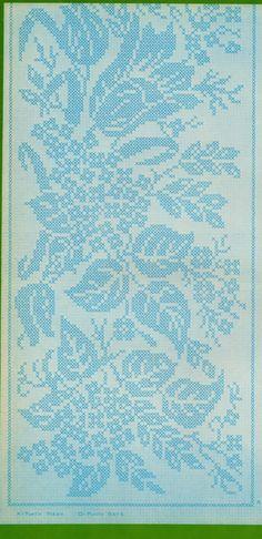 Professione Donna: Lo stile Vintage: Striscia con grandi fiori e foglie