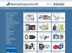 www.BoatingSupplySource.com    This is a WestMarine affiliate site that showcases all of their online products.