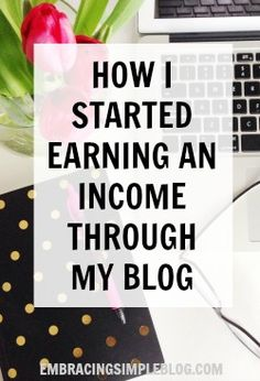 How I started earning an income from my blog! Sharing advice for how to earn an income from blogging in my June 2015 Blog Income Report.