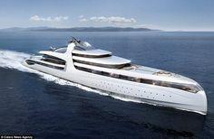 150 meter ren och skär lyx – kika in i världens största privata yacht - Sköna hem