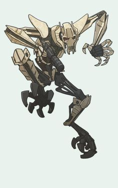 general grievous by jimmymcwicked on DeviantArt                                                                                                                                                                                 Mais