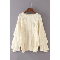 Yoins Beige Round Neck Long Sleeves Diamond Jumper ($29) ❤ liked on Polyvore featuring tops, sweaters, black, long sleeve layering tops, beige top, layered sweater, diamond sweater and long sleeve jumper