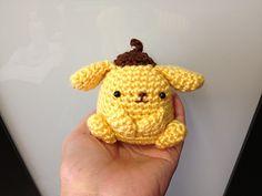 Crochet Purin Purin Artist Dog Doll Toy pattern by DDs Crochet
