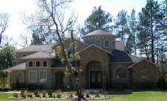 Luxury Style House Plans - 4878 Square Foot Home, 2 Story, 5 Bedroom and 4 3 Bath, 3 Garage Stalls by Monster House Plans - Plan 85-194