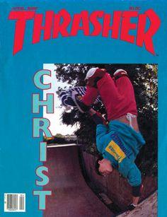 Thrasher Magazine cover - April 1985