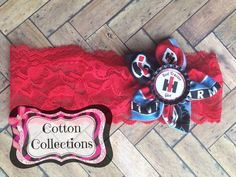 International Harvester headband case ih by CottonCollections